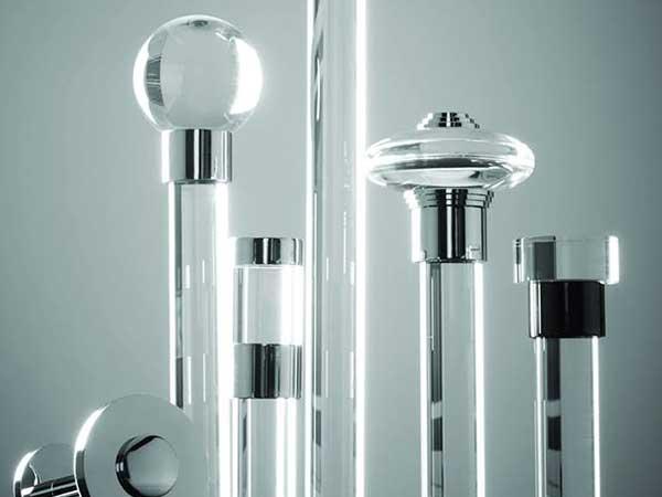 Acrylic Curtain Poles