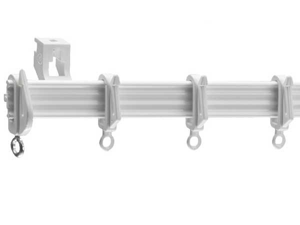 Harrison Drape White Drape Curtain Track and Components