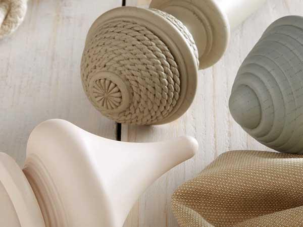 Jones Seychelles 40mm Wooden Curtain Poles