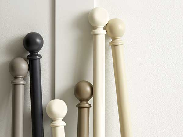 Jones Shore 35mm Wooden Curtain Poles