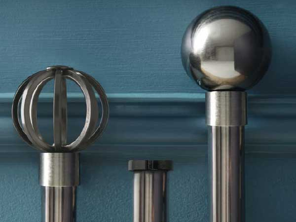 Metal Curtain Pole Range