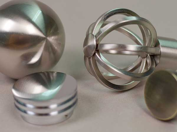 Metal Curtain Pole Finials