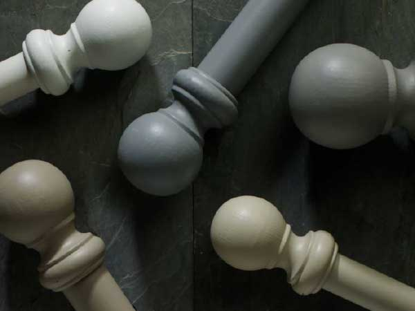 Rolls Honister Wooden Curtain Poles