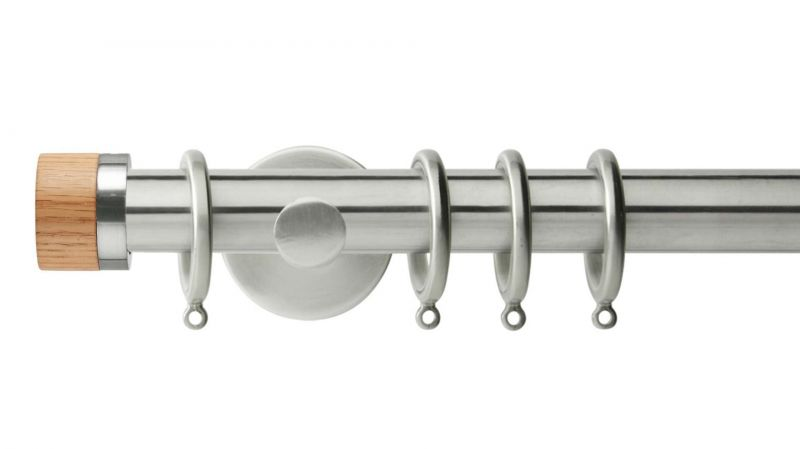 Free P/&P NEW Curtain Pole Bracket Fixing Plates Wall Mount Bracket 40MM EACH