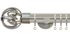 Strand Circle Cage 35mm Metal Curtain Pole