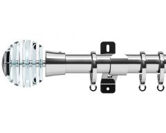 Design Studio Rondelle 28mm Bay Window Metal Curtain Pole