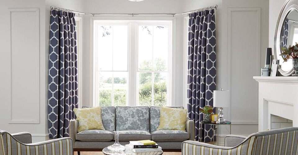 Curtain Poles for Bay Windows