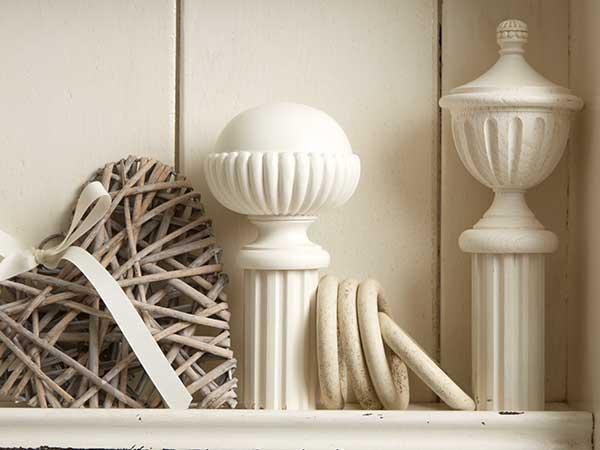 Jones Florentine 50mm Wooden Curtain Poles